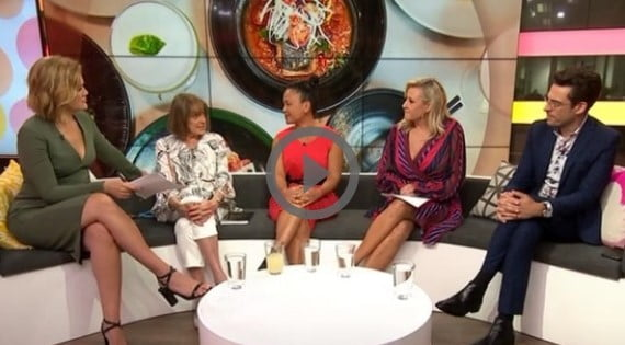 """LIVE TV – Taking """"The Way"""" to the World – Studio 10"""
